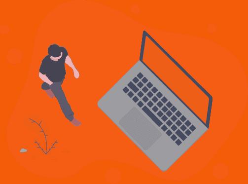 Menino e Laptop